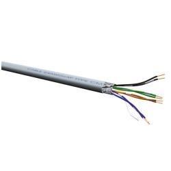 Câble Nilox - Câble en vrac - 300 m - FTP - CAT 5e - gris