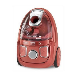 Aspirateur Rowenta Compacteo Ergo Cyclonic RO5353EA - Aspirateur - traineau - sans sac - 2000 Watt - rouge corail