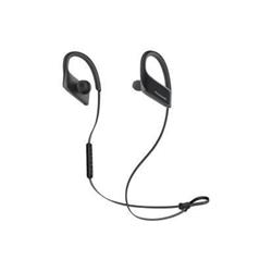 Panasonic Wings RP-BTS30E - Écouteurs avec micro - intra-auriculaire - montage sur l'oreille - sans fil - Bluetooth - noir