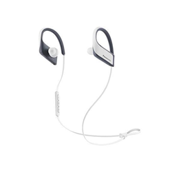 Panasonic Wings RP-BTS30E - Écouteurs avec micro - intra-auriculaire - montage sur l'oreille - sans fil - Bluetooth - blanc