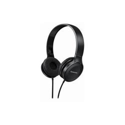 Panasonic RP-HF100ME - Casque avec micro - sur-oreille - jack 3.5mm