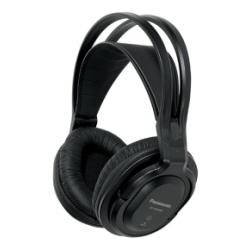 Casque Panasonic RP-WF830WE - Casque - pleine taille - sans fil - radio - noir