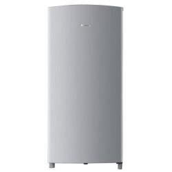 Réfrigérateur Hisense RR195D4DG1 - Réfrigérateur - pose libre - largeur : 53.6 cm - profondeur : 51.9 cm - hauteur : 113 cm - 150 litres - classe A+ - argenté(e)