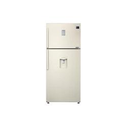 Réfrigérateur Samsung RT53K6540EF - Réfrigérateur/congélateur - pose libre - largeur : 79 cm - profondeur : 72 cm - hauteur : 185.5 cm - 526 litres - congélateur haut avec distributeur d'eau - classe A+ - beige vanille