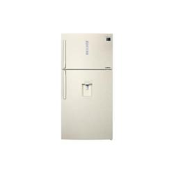Réfrigérateur Samsung Serie 7000 RT58K7510EF - Réfrigérateur/congélateur - pose libre - largeur : 83.6 cm - profondeur : 74.2 cm - hauteur : 178.7 cm - 520 litres - congélateur haut avec distributeur d'eau - classe A+ - beige vanille