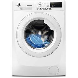 Lave-linge Electrolux FlexManager RWF1084BW - Machine à laver - pose libre - largeur : 60 cm - profondeur : 57.6 cm - hauteur : 85 cm - chargement fro