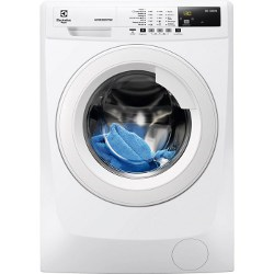 Lave-linge Electrolux FlexManager RWF1484BW - Machine à laver - pose libre - largeur : 60 cm - profondeur : 57.6 cm - hauteur : 85 cm - chargement frontal - 8 kg - 1400 tours/min - blanc
