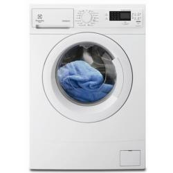 Lave-linge Electrolux RWS1274EDW - Machine à laver - pose libre - profondeur : 45 cm - chargement frontal - 7 kg - 1200 tours/min