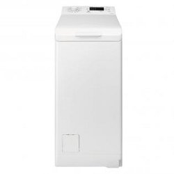 Lave-linge Electrolux RWT1064EDW - Machine à laver - pose libre - largeur : 40 cm - profondeur : 60 cm - hauteur : 85 cm - chargement par le dessus - 6 kg - 1000 tours/min