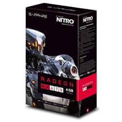 Scheda video Sapphire - Radeon rx 470 nitro+ oc lite retail