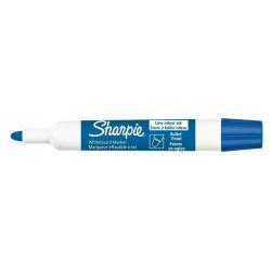 Marqueur Sharpie - Marqueur - pour tableau blanc - bleu - 2 mm - pack de 12