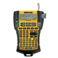 Étiqueteuse DYMO Rhino 5200 Hard Case Kit - Étiqueteuse - monochrome - transfert thermique - Rouleau (1,9 cm )