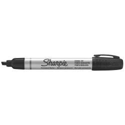 Marqueur Sharpie - Marqueur - permanent - noir - encre par coloration - 1-4 mm - petit - pack de 12