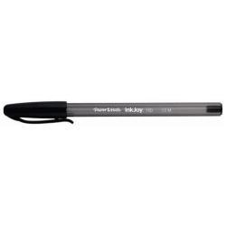 Stylo Paper Mate InkJoy 100 - Stylo à bille - noir - 1 mm - moyen - pack de 100