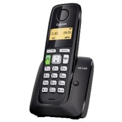 Telefono fisso Gigaset - AS160 BLACK