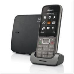 Téléphone fixe Gigaset SL750 PRO - Téléphone sans fil - interface Bluetooth avec ID d'appelant - DECT\GAP - graphite