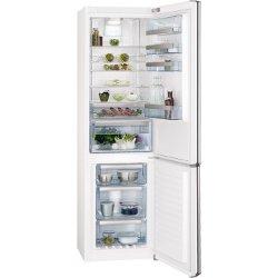 Réfrigérateur AEG S93820CMW2 - Réfrigérateur/congélateur - pose libre - largeur : 59.5 cm - profondeur : 64.7 cm - hauteur : 200 cm - 350 litres - congélateur bas - Classe A++ - blanc