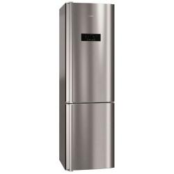 Réfrigérateur AEG S93820CMX2 - Réfrigérateur/congélateur - pose libre - largeur : 59.5 cm - profondeur : 64.7 cm - hauteur : 200 cm - 350 litres - congélateur bas - Classe A++ - inox