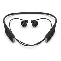 Sony SBH70 - Écouteurs avec micro - intra-auriculaire - montage derrière le cou - sans fil - Bluetooth - NFC* - noir - pour Sony XPERIA C5, L1, M5, X Compact, X Performance, X Performance Dual, XA1, XZ Premium, XZs