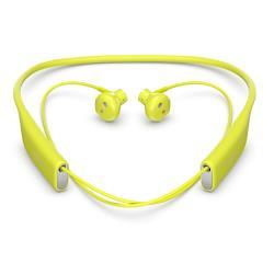 Sony SBH70 - Écouteurs avec micro - intra-auriculaire - montage derrière le cou - sans fil - Bluetooth - NFC* - citron vert - pour Sony XPERIA C5, L1, M5, X Compact, X Performance, X Performance Dual, XA1, XZ Premium, XZs