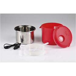 Girmi Vivandiere SC01 - Boîte à déjeuner électrique - 0.7 litres - 40 Watt - rouge