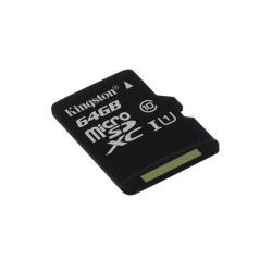 Carte mémoire Kingston - Carte mémoire flash - 64 Go - UHS Class 1 / Class10 - microSDXC UHS-I