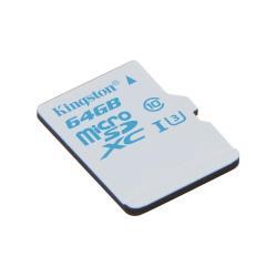 Carte mémoire Kingston - Carte mémoire flash - 64 Go - UHS Class 3 / Class10 - microSDXC UHS-I