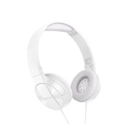 Pioneer SE-SE-MJ503T - Casque avec micro - sur-oreille - jack 3,5mm - blanc
