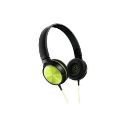 Casque Pioneer SE-MJ522 - Casque - pleine taille - 3.5 mm plug - citron vert