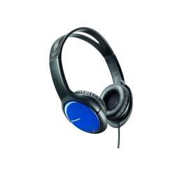 Casque Pioneer SE-MJ711-L - Casque - vertical - 3.5 mm plug - noir, bleu