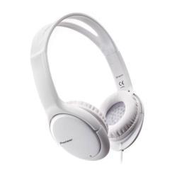Casque Pioneer SE-MJ711-W - Casque - pleine taille - 3.5 mm plug - blanc