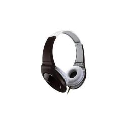 Casque Pioneer SE-MJ721 - Casque - pleine taille - 3.5 mm plug - blanc, brun - pour Apple iPad 1; 2; iPhone 3GS, 4, 4S; iPod nano; iPod shuffle (3G, 4G); iPod touch
