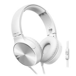 Pioneer Bass Series SE-MJ722T - Casque - sur-oreille - 3.5 mm plug - blanc