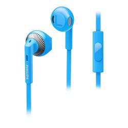 Philips SHE3205BL - Écouteurs avec micro - embout auriculaire - 3.5 mm plug