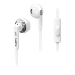 Philips SHE3205WT - �couteurs avec micro - embout auriculaire - 3.5 mm plug