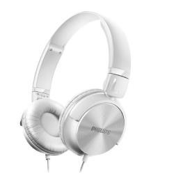 Philips SHL3060WT - Casque - pleine taille - jack 3.5mm - blanc