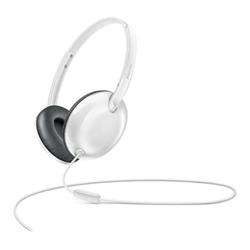 Philips SHL4405WT - Casque avec micro - sur-oreille - jack 3.5mm