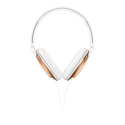 Philips SHL4805RG - Casque avec micro - sur-oreille - jack 3.5mm - or