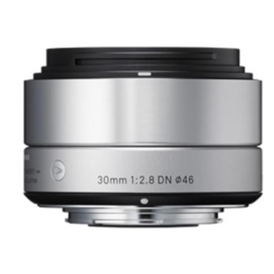 Sigma - 30MM 2.8 A DN SON-E SILVER
