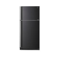 Réfrigérateur Sharp SJ-XE680MBK - Réfrigérateur/congélateur - pose libre - largeur : 80 cm - profondeur : 73.5 cm - hauteur : 175 cm - 536 litres - congélateur haut - Classe A++ - noir