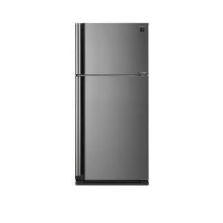 Réfrigérateur Sharp SJ-XE680MSL - Réfrigérateur/congélateur - pose libre - largeur : 80 cm - profondeur : 73.5 cm - hauteur : 175 cm - 536 litres - congélateur haut - Classe A++ - argenté(e)