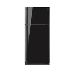 Réfrigérateur Sharp SJ-XP700GBK - Réfrigérateur/congélateur - pose libre - largeur : 80 cm - profondeur : 73.5 cm - hauteur : 185 cm - 578 litres - congélateur haut - Classe A++ - noir