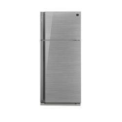 Réfrigérateur Sharp SJ-XP700GSL - Réfrigérateur/congélateur - pose libre - largeur : 80 cm - profondeur : 73.5 cm - hauteur : 185 cm - 578 litres - congélateur haut - Classe A++ - argenté(e)