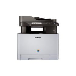 Imprimante laser multifonction Samsung Xpress C1860FW - Imprimante multifonctions - couleur - laser - Legal (216 x 356 mm) (original) - A4/Legal (support) - jusqu'� 18 ppm (copie) - jusqu'� 18 ppm (impression) - 250 feuilles - 33.6 Kbits/s - USB 2.0, Gigabit LAN, Wi-Fi(n)