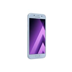 """Smartphone Samsung Galaxy A3 (2017) - SM-A320FL - smartphone - 4G LTE - 16 Go - microSDXC slot - GSM - 4.7"""" - 1 280 x 720 pixels - Super AMOLED - 13 MP (caméra avant de 8 mégapixels) - Android - brume bleue"""