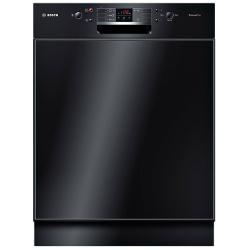 Lave-vaisselle encastrable Bosch SilencePlus ActiveWater SMD53M86EU - Lave-vaisselle - intégrable - Niche - largeur : 60 cm - profondeur : 57.3 cm - hauteur : 81.5 cm - noir
