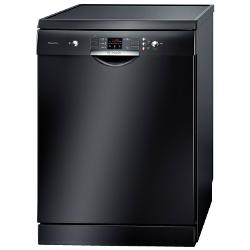 Lave-vaisselle Bosch SilencePlus ActiveWater SMS53N66EU - Lave-vaisselle - pose libre - largeur : 60 cm - profondeur : 60 cm - hauteur : 84.5 cm - noir