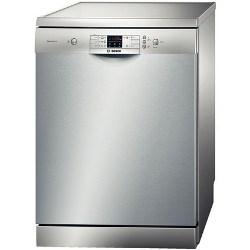 Lave-vaisselle Bosch Serie 6 SMS53N68EU - Lave-vaisselle - pose libre - largeur : 60 cm - profondeur : 60 cm - hauteur : 84.5 cm - inox