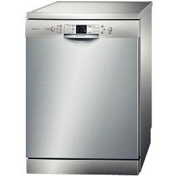 Lave-vaisselle Bosch ActiveWater HydroSTAR SMS54M98II - Lave-vaisselle - pose libre - largeur : 60 cm - profondeur : 60 cm - hauteur : 84.5 cm - inox