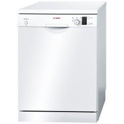Lave-vaisselle Bosch Serie 4 Silence Plus SMS57E22EU - Lave-vaisselle - pose libre - largeur : 60 cm - profondeur : 60 cm - hauteur : 84.5 cm - blanc